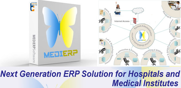 MEDI-ERP MEDI-ERP solution is the web based ERP solution for hospitals.